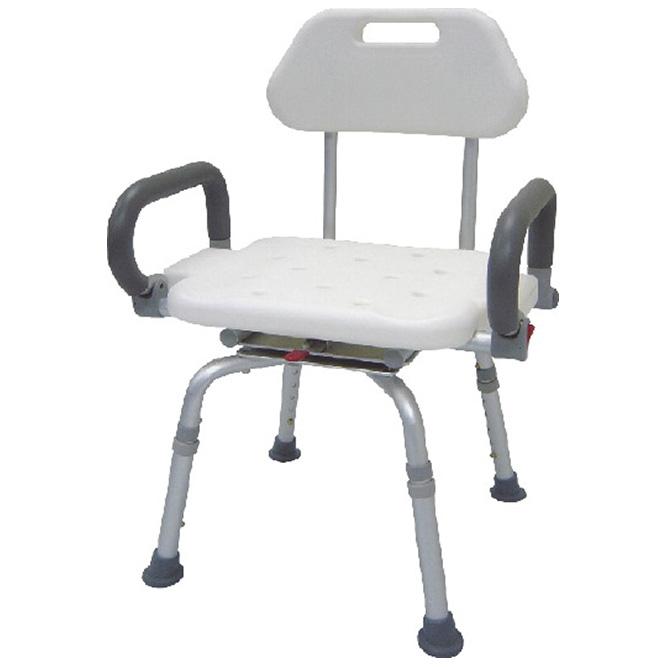 Fauteuils de bain non pliables avec siège rotatif