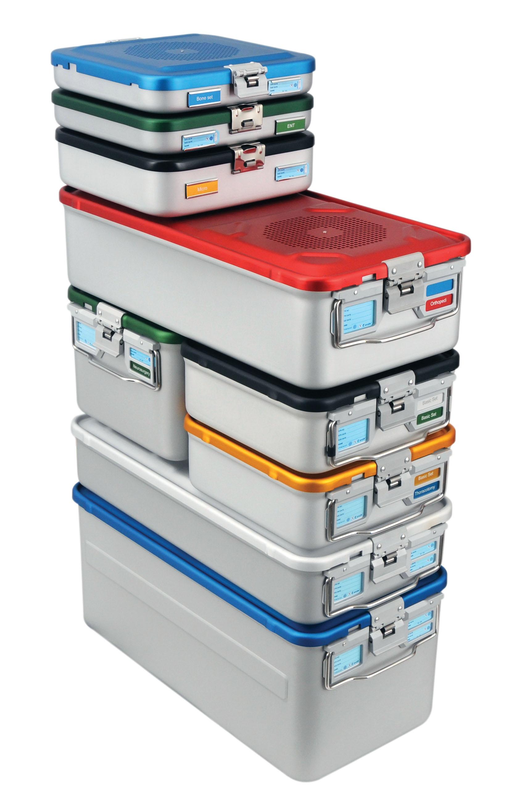Boite autoclavable pour st rilisation pscc medical for Container en francais