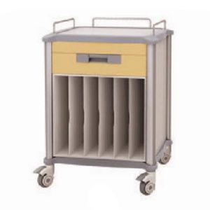 Chariots pour dossiers et radiographies