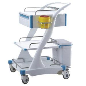 Chariot médicaux en ABS
