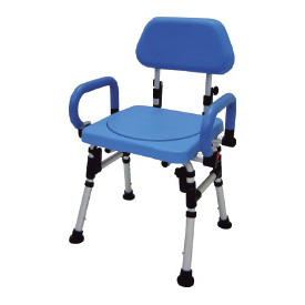 Shower chair with rotating seat